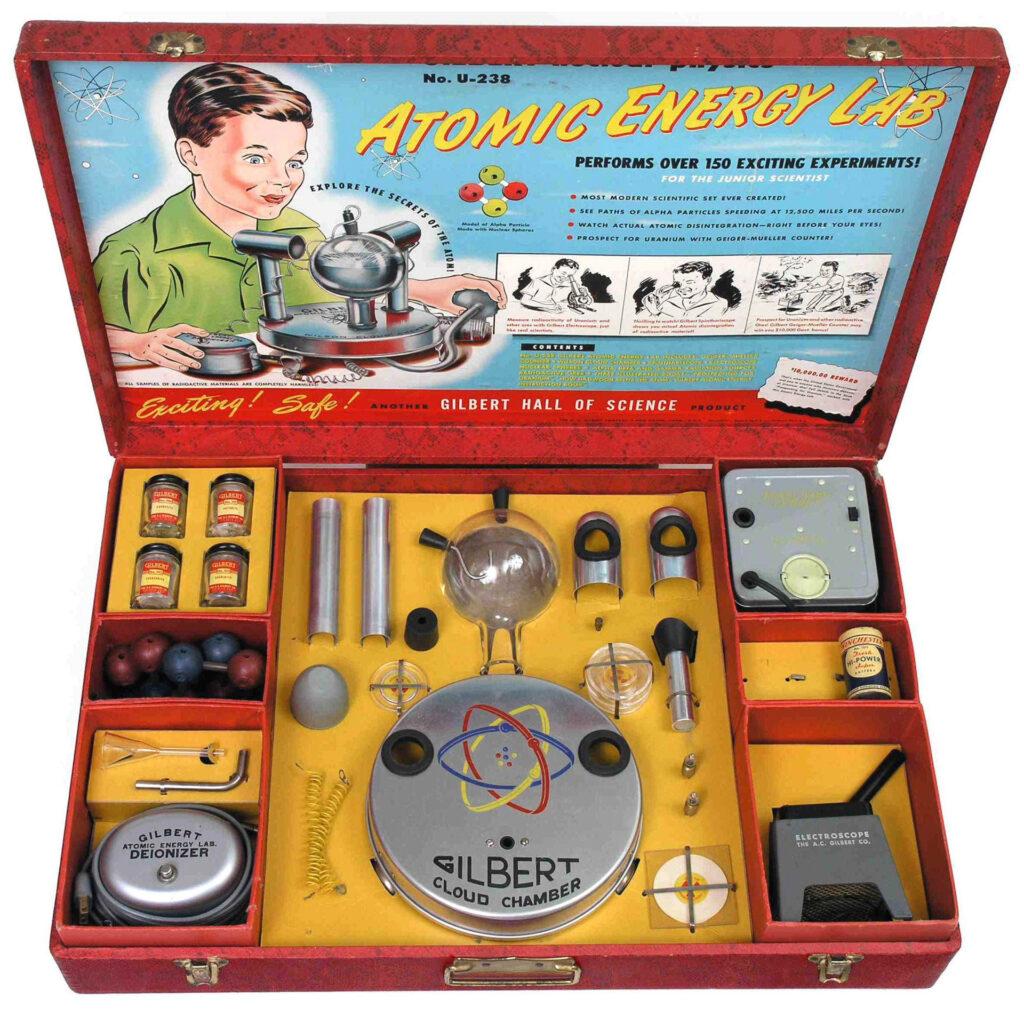 Atomic Energy Lab - zestaw edukacyjny dla dzieci