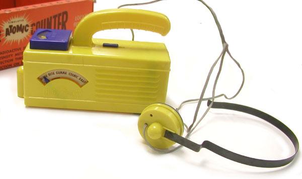 Zabawkowy licznik Geigera