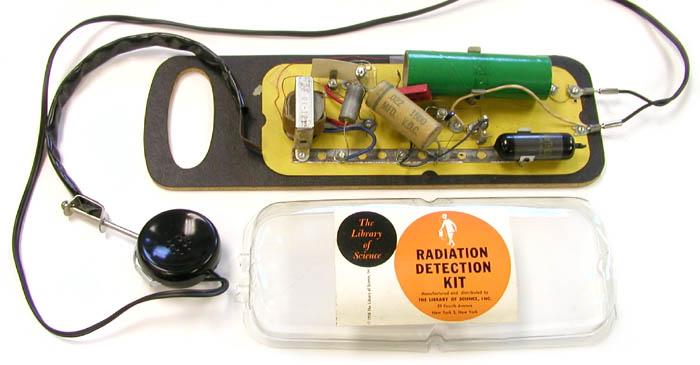 Wykrywacz promieniowania do samodzielnego montażu