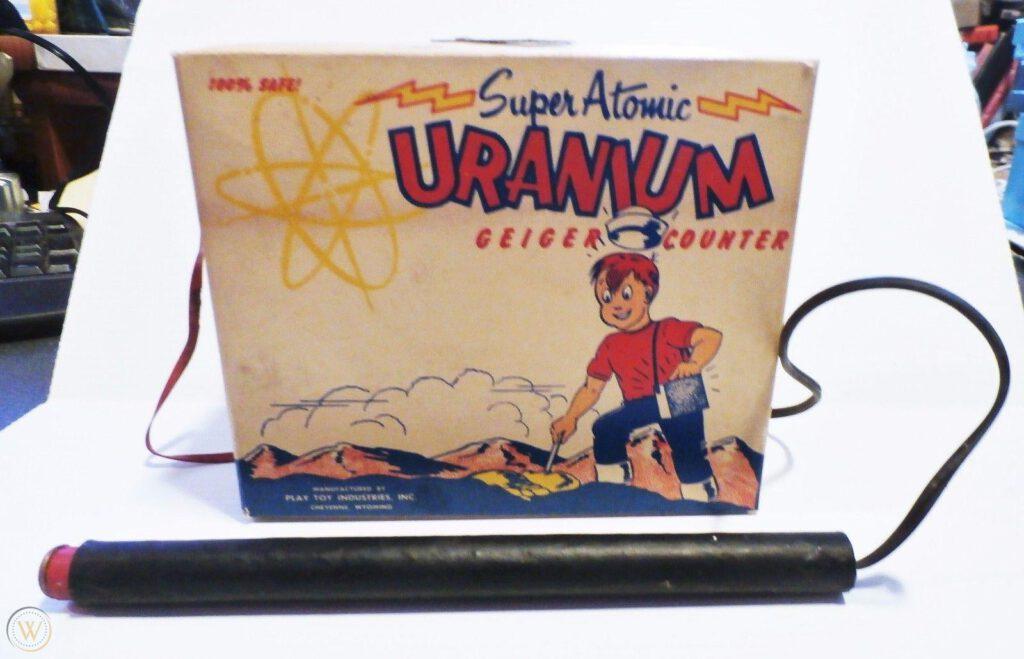 Super Atomic Uranium Geiger Counter